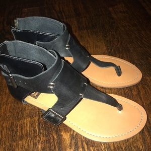 Dolce vita sandals with leather